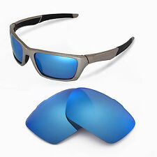 New Walleva Polarized Ice Blue Replacement Lenses For Oakley Jury Sunglasses