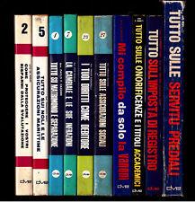 LOTTO 10 guide De Vecchi DVE (tutto su diritti, noli..)