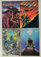 Marvel-The War #1,2,3,4-Complete Series-1989-First Prints-
