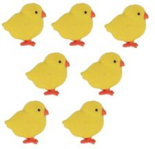 Jesse James Buttons - Dress It Up - BABY CHICKS - PEEPS - Easter Sew Craft Quilt