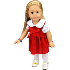 best baby gift  doll clothing dress for 18inch American girl doll party  b530