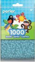 1000 Perler Clear Blue Color Iron On Fuse Beads  80-15184