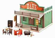 Playmobil 6478  Western Bank    Rare Brand New item  LGB (  add one )