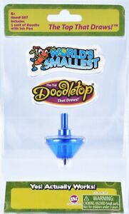 World's Smallest Blue Doodletop Brand New Sealed In Pack