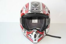 NEUF: Casque CROSS HJC KNIGHT CSX3 Rouge Taille XL / 62