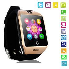 Bluetooth Wrist Smart Watch Support GSM SIM For Samsung Galaxy Note 9 8 5 J6 J7