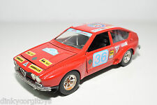 BBURAGO BURAGO 144 ALFA ROMEO ALFETTA CORSA RALLY RED NEAR MINT CONDITION