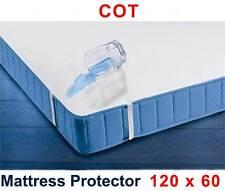 Protector De Colchón Impermeable 120 x 60 cm /cuna bebé Transpirable Terry
