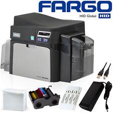 Free Shipping! Fargo Dtc4250e Id Card Thermal Printer Package - Magicard Evolis