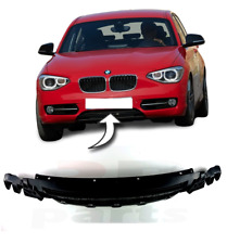 FOR BMW 1 F20 SERIES 2011 - 2015 NEW FRONT BUMPER LOWER CENTER GRILLE BLACK