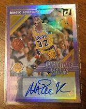 MAGIC JOHNSON 2019-20 Donruss Signature Series Auto LA Lakers HOF Kobe Purple