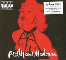 "MADONNA ""REBEL HEART""  2 cd deluxe version digipack sealed"