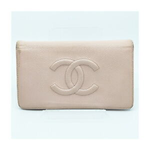 Chanel Long Wallet  Pinks Caviar Skin 1418145
