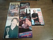 Lot of 5 Stand-Up Comedy VHS Tapes- Foxworthy, Carlin, Pierce, Harvey, Mac...