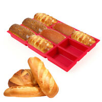 9 Holes Silicone Bread Baking Pan Mold Tray Chocolate Cake Pastry Baking Mould