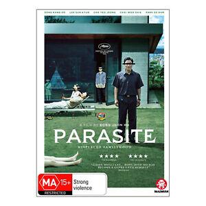 Parasite DVD New Region 4 Aust. - Kang-ho Song, Sun-kyun Lee - Free Post