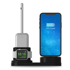 4 in 1 Ladestation Station Halter Ständer für iWatch / AirPod / iPhone / Apple