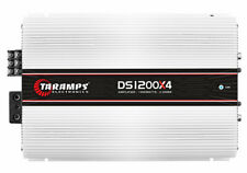 TARAMPS DS 1200x4 2 OHM SAME DAY SHIPPING FROM OHIO  & 1 YEAR WARRANTY