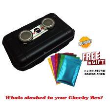 Magnetic Box Storage Car Safe Secret Stash Key Holder Hidden Compartment