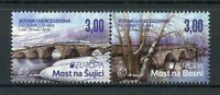 Bosnia & Herzegovina 2018 MNH Bridges Europa 2v Set Bridge Architecture Stamps
