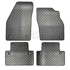 Volvo V50 2003 to 2012 Tailored 4 Piece Rubber Car Mat Set 8 Clips