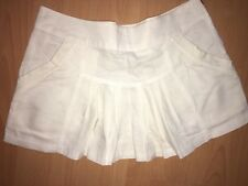 Ladies White Skirt Size 10