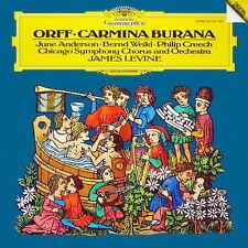 Orff Carmina Burana Chicago Symphony Orchestra James Levine 185 DGG CD