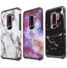 For SAMSUNG GALAXY S9+ PLUS - Hard Hybrid Shockproof Armor Phone Skin Case Cover