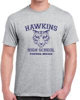 539 Hawkins High School mens T-shirt funny costume stranger tv show things funny