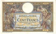 Billets de 100 francs français sur Luc Olivier Merson