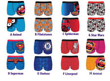 Mens Disney, Star Wars, Liverpool, Flintstones, Novelty Character Boxer Trunks