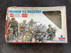 esci 1/72 Modern US Soldiers.