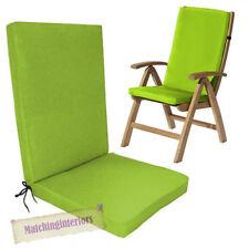 Chaise de jardin de jardin et de terrasse verts
