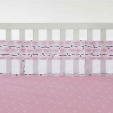 Nautica Kids Nursery Separates Whale/Rope Print Pink Secure-Me  Crib Liner only