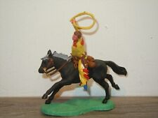Cowboy on Horse - Plastic Toy - Britains England *37780