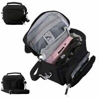 Nintendo DS Bag Travel Carry Case for DS 2DS 3DS DSi XL BLACK By Orzly