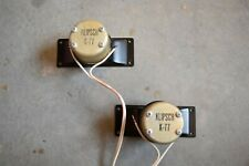 KLIPSCH K77 TWEETERS SPEAKERS TESTED PAIR KLIPSCHORN LA SCALA VINTAGE ALNICO