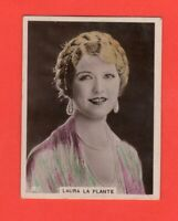 1920's  87. Laura La Plante  BAT CINEMA STARS, SET 6A  Film Card Rare