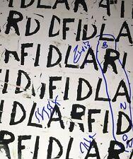 FIDLAR Complete Group Signed 8x10 Autographed Photo COA E2