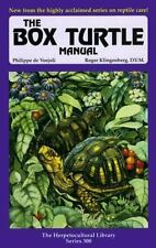 The Box Turtle Manual (The Herpetocultural Library. Series 300), Philippe de Vos