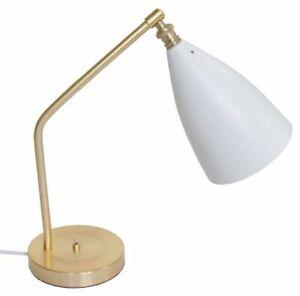 Greta Grossman Grasshopper Table Lamp Quality Replica Light Lighting Iron Brass