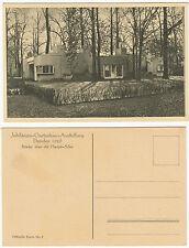 AK DRESDEN um 1926 Gartenbau-Ausstellung - Brücke über die Hauptallee  ( 2545