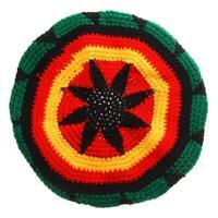 Multicolor Acrylic Jamaica Rasta DreadLock Roots Tam Hat Rasta Beanie Cap