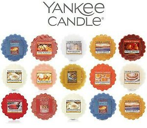 Yankee Candle 21 different Flavor Scent Wax Tarts Melts single & multi Pack P&P