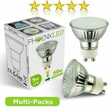 Multi-Packs 10/6/4 GU10 LED Bulbs Lamps Warm Daylight White 5W = 50W 3.5W = 35W