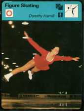 1977 Dorothy Hamill USA Olympic Team Figure Skating Sportscaster Card #04-23
