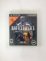 Battlefield 3 Limited Edition - Playstation 3 PS3 Game - Tested