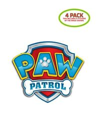 Paw Patrol Sticker Vinyl Decal 4 Pack