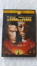The Sum of All Fears DVD, 2013 Ben Affleck Morgan Freeman Action Drama Adventure