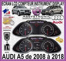 ÉCRAN AFFICHEUR LCD OBD COULEUR COMPTEUR *** AUDI Q5 de 2008 à 2018 *** 48H !!!